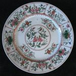 HH Japan porcelain plate hand painted Hong Kong €40